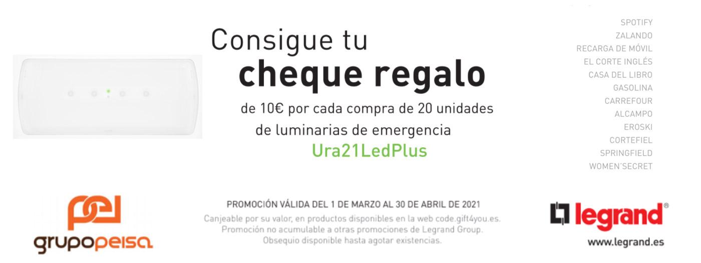 ¡¡Consigue tu cheque regalo con Grupo Peisa y Legrand!!