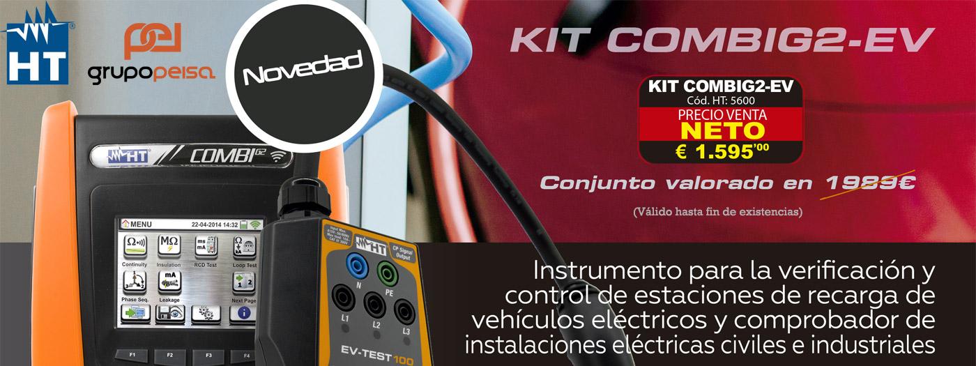 ¡¡Magnífica  promoción en Instrumentos KIT COMBING2-EV!!